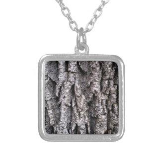 De Fotografie van de Schors van de boom Zilver Vergulden Ketting