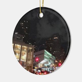 De Fotografie van de Stad NYC van New York van het Rond Keramisch Ornament