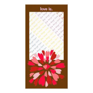 De fotokaart van Mum Valentijn van de liefde
