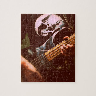 De fotoraadsel van de bassist puzzels