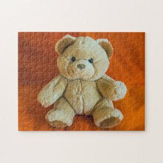 De fotoraadsel van de teddybeer puzzel