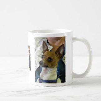 De Fox-terrier van het speelgoed Koffiemok
