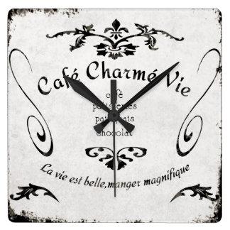 De Franse Klok van het Teken van de Koffie