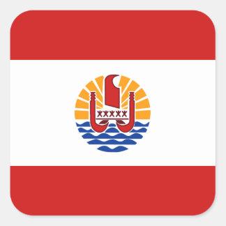 De Franse Polynesia Sticker van de Vlag