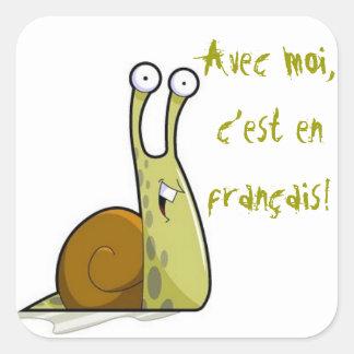 De Franse Stickers van de Klasse