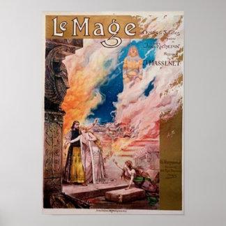 De French Opera van le Mage Poster