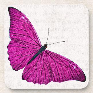 De Fuchsiakleurig Hete Roze Sjabloon van de Onderzetter