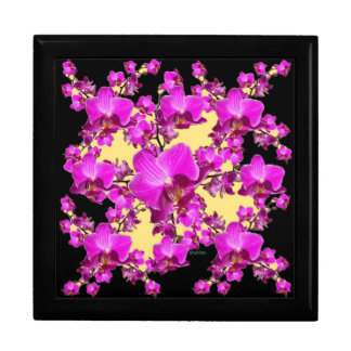 De fuchsiakleurig Roze Room van Orchideeën & de Vierkant Opbergdoosje Large