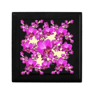 De fuchsiakleurig Roze Room van Orchideeën & de Vierkant Opbergdoosje Small