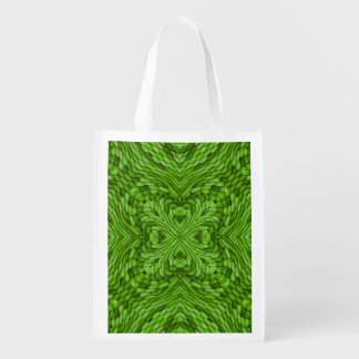De gaande Groene Kleurrijke Opnieuw te gebruiken Herbruikbare Boodschappentas