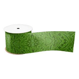 De gaande Groene Linten, 1.5 of 3 van de Douane Satijnen Lint