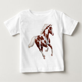 De galopperende T-shirt van het Baby van het Paard
