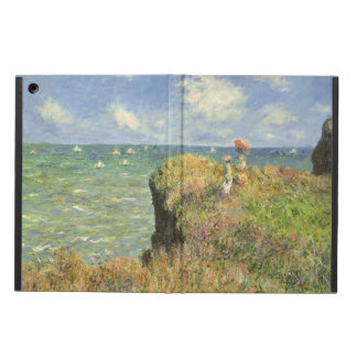 De Gang van de klip in Pourville door Claude Monet iPad Air Hoesje
