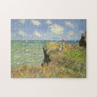 De Gang van de klip in Pourville door Claude Monet Puzzel