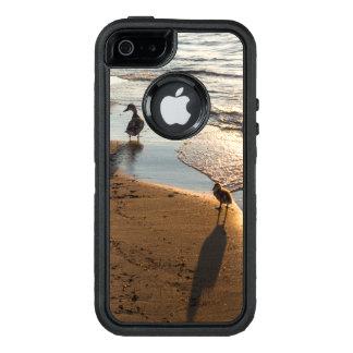 De Gang van de zonsondergang met Mama OtterBox Defender iPhone Hoesje