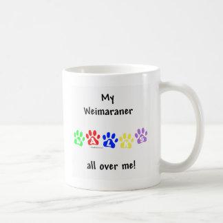 De Gangen van Weimaraner Koffiemok