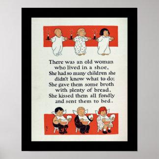 De Gans van de moeder Poster