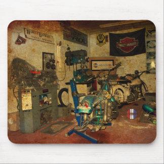 De garageworkshop mousemat muismat