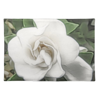 De Gardenia Placemat van de waterverf