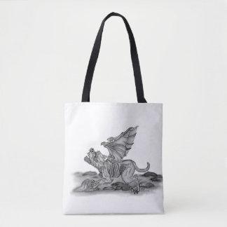 De Gargouille van Golem, Zwart-wit ontwerp Draagtas