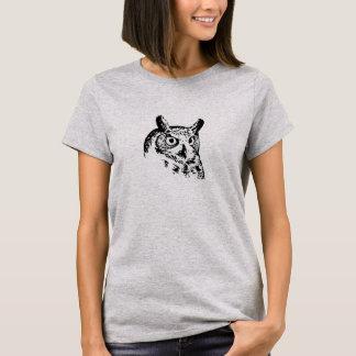 De geanimeerde T-shirt van de Uil