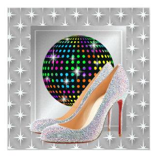 De Gebeurtenis/de Disco van het feest Kaart