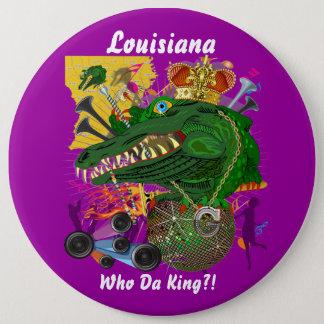 De Gebeurtenis van Gras Carnaval van Mardi te Ronde Button 6,0 Cm