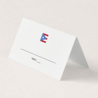De Gebeurtenis van Puerto Rico Plaatskaart