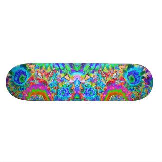 De Gebieden van de zonnebloem voor altijd - blauw 20,6 Cm Skateboard Deck