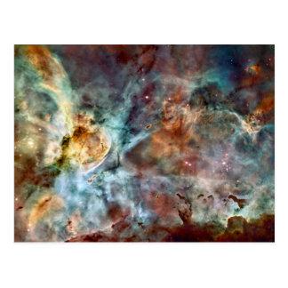 De geboorte & de dood van de ster in de Nevel van Briefkaart