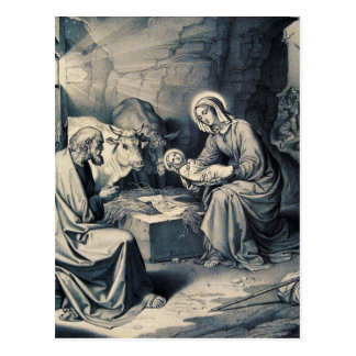 De geboorte van Christus Briefkaart