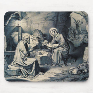 De geboorte van Christus Muismat