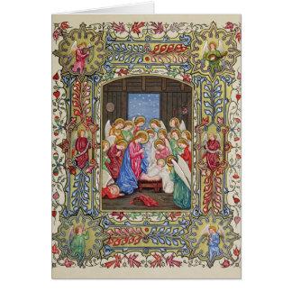 De geboorte van Christus van Onze Lord Briefkaarten 0
