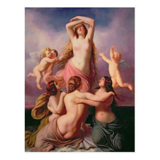 De geboorte van Venus, 1846 Briefkaart