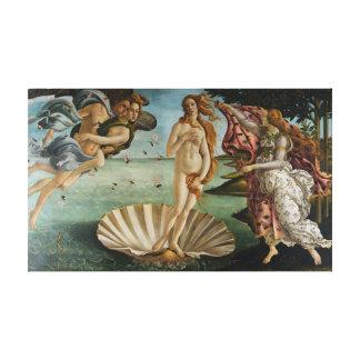De geboorte van Venus (door Sandro Botiicelli) Canvas Print