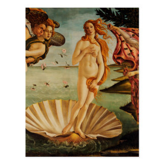 De geboorte van Venus door Sandro Botticelli Briefkaart