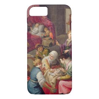 De geboorte van Virgin, 1640 (olie op canvas) iPhone 7 Hoesje