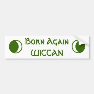 De geboren opnieuw Sticker van de Bumper WICCAN