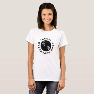 De Geboren Superster van augustus T Shirt