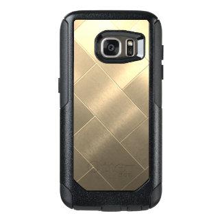 De geborstelde Gouden Hoesjes van Samsung van de