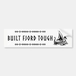 De gebouwde Sticker van de Bumper van de Fjord