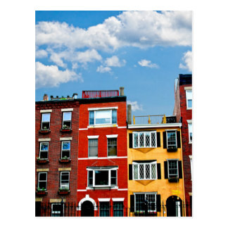 De gebouwen van Boston Briefkaart