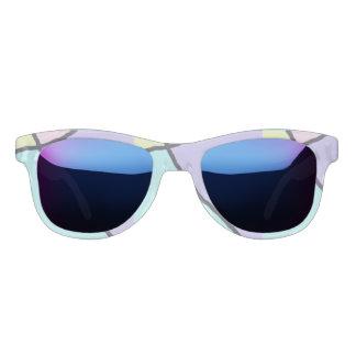 De gebroken Nevelige zonnebril van de Tegel