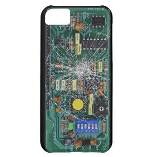 De gebroken Raad van de Kring van het Glas iPhone 5C Hoesje
