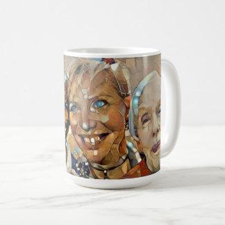 De gebroken Vriendschappelijke jumbomok van Dames Koffiemok