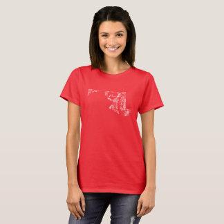 De gebruikte BasisT-shirt van de Vrouwen van de T Shirt
