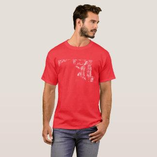 De gebruikte Donkere T-shirt van het Mannen van de