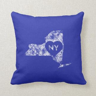 De gebruikte Staat van New York van de Liefde van Sierkussen
