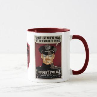 De gedachte Mok van de Politie