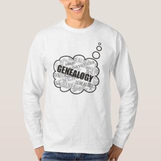 De Gedachten van de genealogie T-shirts